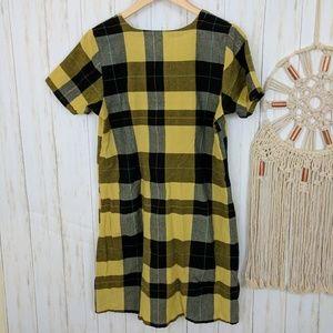 Mata Traders Dresses - Mata Traders Plaid Shift Dress